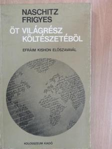 Albrecht Haushofer - Öt világrész költészetéből [antikvár]