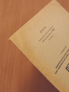 Szabadváry F. - Wissenschaftliche Forschertätigkeit und wissenschaftliche Voreingenommenheit - Separatum [antikvár]