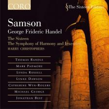 Handel - SAMSON 3CD CHRISTOPHERS
