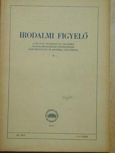 Dobossy László - Irodalmi Figyelő 1957/2-3. [antikvár]