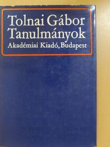 Tolnai Gábor - Tanulmányok [antikvár]