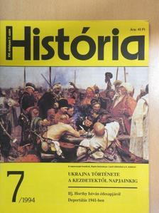 Font Márta - História 1994/7. [antikvár]