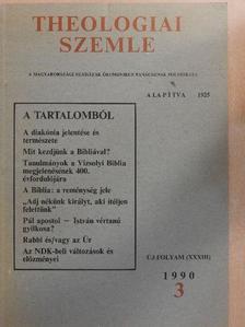 Borsa Gedeon - Theologiai Szemle 1990/3. [antikvár]