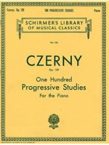 CZERNY - ONE HUNDRED PROGRESSIVE STUDIES FOR THE PIANO OP.139