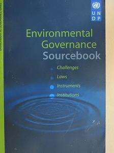 Environmental Governance Sourcebook [antikvár]