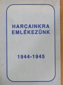 Antal István - Harcainkra emlékezünk [antikvár]