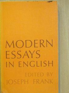 Gene Smith - Modern Essays in English [antikvár]