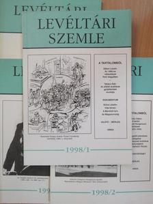 Albrechtné Kunszeri Gabriella - Levéltári Szemle 1998/1-4. [antikvár]