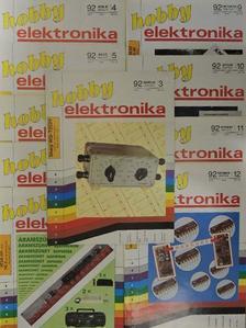 Békei Ferenc - Hobby Elektronika 1992. (nem teljes évfolyam) [antikvár]