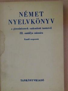 Dr. Kovács János - Német nyelvkönyv III. [antikvár]