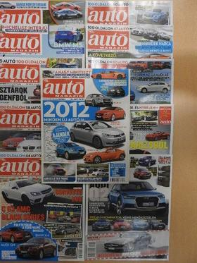 Busánszky Lajos - Autó Magazin 2012. (nem teljes évfolyam) [antikvár]