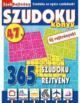 CsoSch Kft. - ZsebRejtvény SZUDOKU Könyv 47