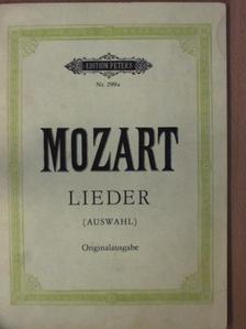 W. A. Mozart - Lieder für eine Singstimme mit Klavierbegleitung [antikvár]