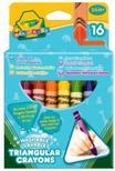 Crayola - 16 db tömzsi háromszög zsírkréta