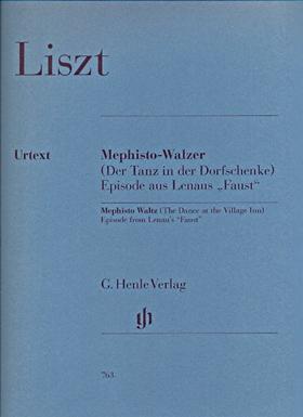 """LISZT - MEPHISTO-WALZER, EPISODE AUS LENAUS """"FAUST"""" FÜR KLAVIER URTEXT (GILBERGER / GERTSCH)"""
