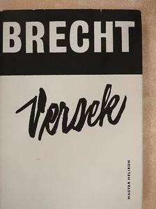 Bertolt Brecht - Versek [antikvár]