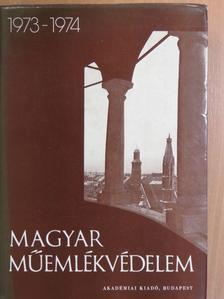 Barcza Géza - Magyar műemlékvédelem 1973-1974 [antikvár]