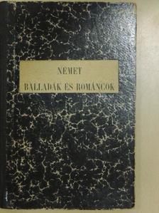 Gottfried August Bürger - Német balladák és románczok I. [antikvár]