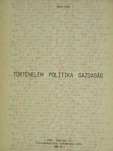 Barabás Béla - Történelem - Politika - Gazdaság II. [antikvár]