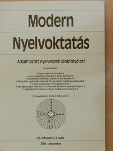 Antal Lajos - Modern Nyelvoktatás 2001/2-3. [antikvár]