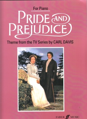 DAVIS, CARL - PRIDE AND PREJUDICE, THEME FROM THE TV SERIES FOR PIANO