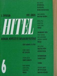 Ablonczy László - Hitel 1997. június [antikvár]