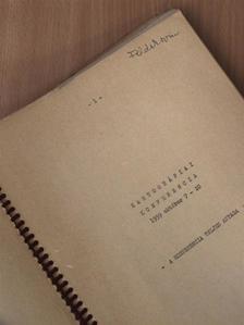 Antonin Götz - Kartográfiai Konferencia 1959. október 7-10 [antikvár]