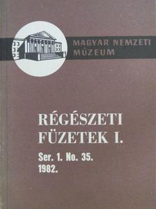 Horváth László - Régészeti füzetek I. 1982/35. [antikvár]