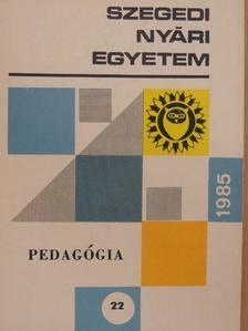 Hámori Miklós - Szegedi Nyári Egyetem 1985 [antikvár]