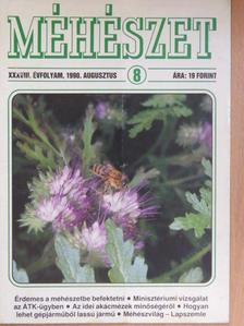 Király László - Méhészet 1990. augusztus [antikvár]