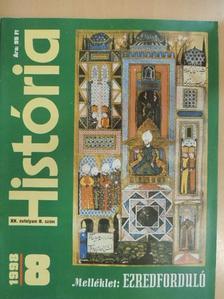 Cselőtei László - História 1998/8. [antikvár]