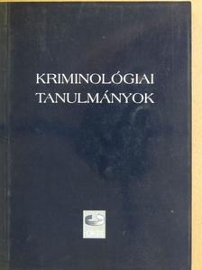 Finszter Géza - Kriminológiai tanulmányok 40. [antikvár]