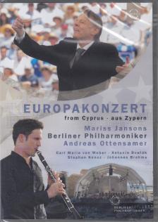 WEBER, KONCZ, DVORÁK, BRAHMS - EUROPAKONZERT 2017 DVD MARISS JANSONS