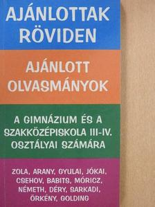 Anton Pavlovics Csehov - Ajánlott olvasmányok [antikvár]