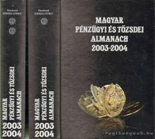 Kerekes György - Magyar pénzügyi és tőzsdei almanach 2003-2004 I-II. [antikvár]