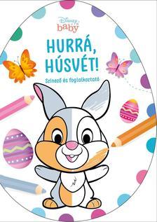Hurrá, Húsvét! - Disney Baby tojás alakú színező