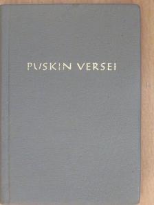 Alekszandr Puskin - Alekszandr Puskin versei [antikvár]