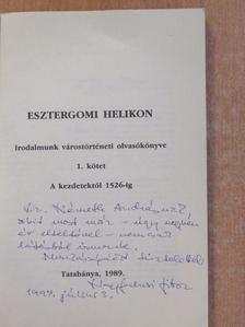 Arany János - Esztergomi Helikon (dedikált példány) [antikvár]