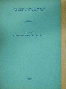 Szántó Imre - Acta Historica Tomus XXIX. (dedikált példány) [antikvár]