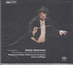 PROKOFIEV - SYMPHONIES NOS.3 AND 4 (FIRST VERSION) CD JAMES GAFFIGAN