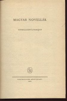 Illés Endre - Magyar novellák I-II. [antikvár]
