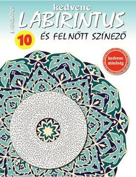CsoSch Kft. - Kedvenc Labirintus és Felnőtt Színező 10