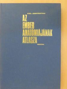 Kiss Ferenc - Az ember anatómiájának atlasza 3. (töredék) [antikvár]