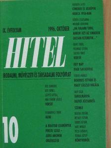 Bónis Ferenc - Hitel 1996. október [antikvár]