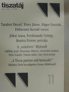 Báger Gusztáv - Tiszatáj 2002. november [antikvár]