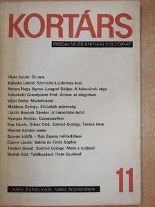 Csányi László - Kortárs 1980. november [antikvár]