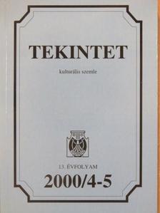 Alföldy Jenő - Tekintet 2000/4-5. [antikvár]