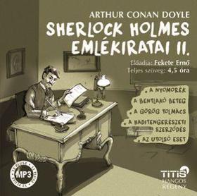 Arthur Conan Doyle - Sherlock Holmes emlékiratai II.