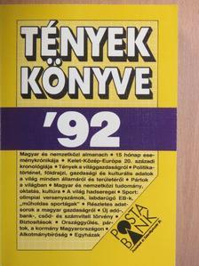 Avar János - Tények könyve '92 [antikvár]