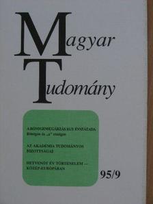 Beck Mihály - Magyar Tudomány 1995. szeptember [antikvár]